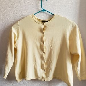 3/$15!!Croft and Barrow Cotton Soft Blazer